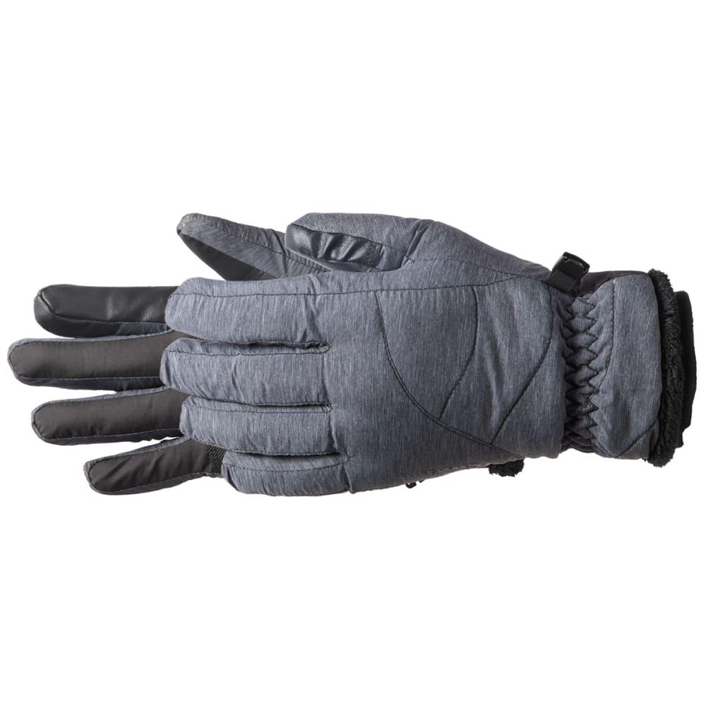 MANZELLA Women's Marlow Ski Gloves - BLACK HEATHER