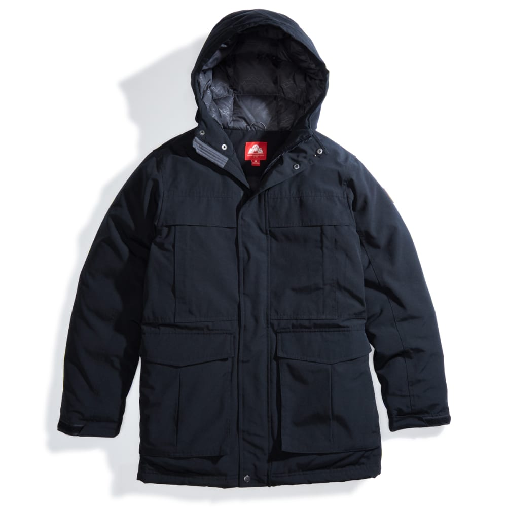 EMS Men's Ryker Down Parka - ANTHRACITE