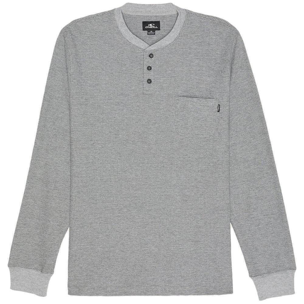 O'NEILL Men's Olympia Long-Sleeve Henley Shirt M
