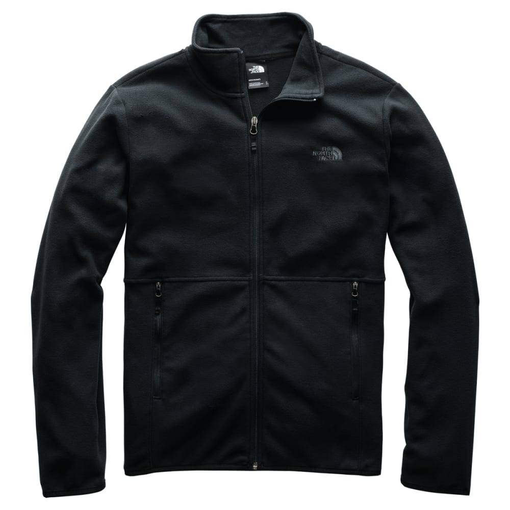 THE NORTH FACE Men's TKA Glacier Full-Zip Jacket - TNF BLACK KX7