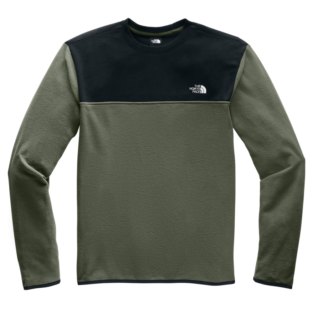 THE NORTH FACE Men's TKA Glacier Pullover Crew - NEW TAUPE GR  BQW