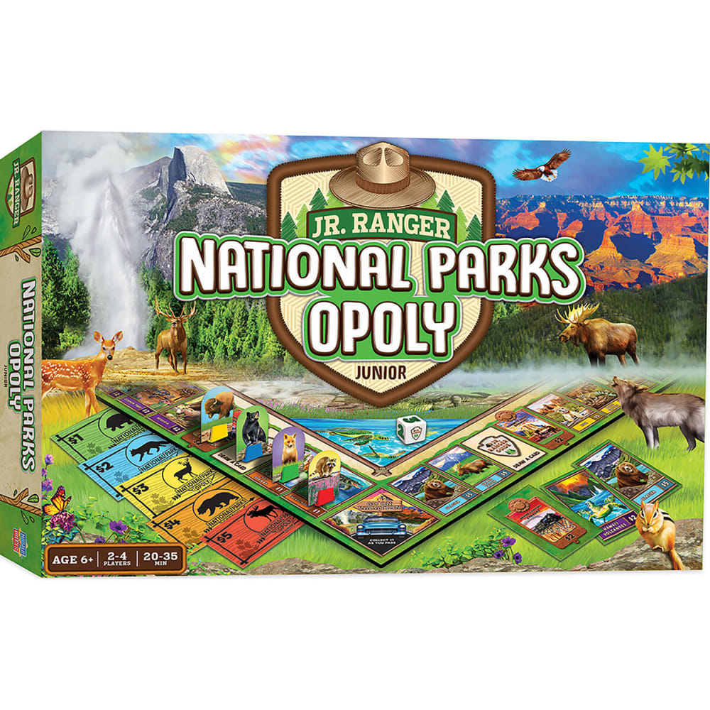 MASTER PIECE PUZZLE CO. National Parks-Opoly Junior - NO COLOR