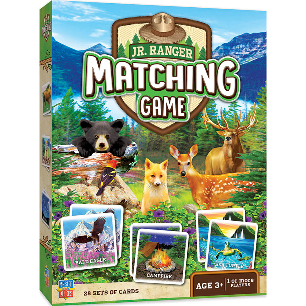 MASTER PIECE PUZZLE CO. Jr. Ranger Matching Game - NO COLOR