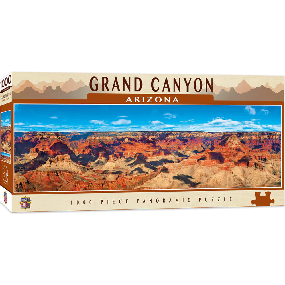 MASTER PIECE PUZZLE CO. Grand Canyon 1,000 Piece Puzzle - NO COLOR