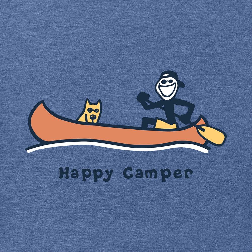 LIFE IS GOOD Men's Vintage Crusher Happy Camper Tee - HTVNB
