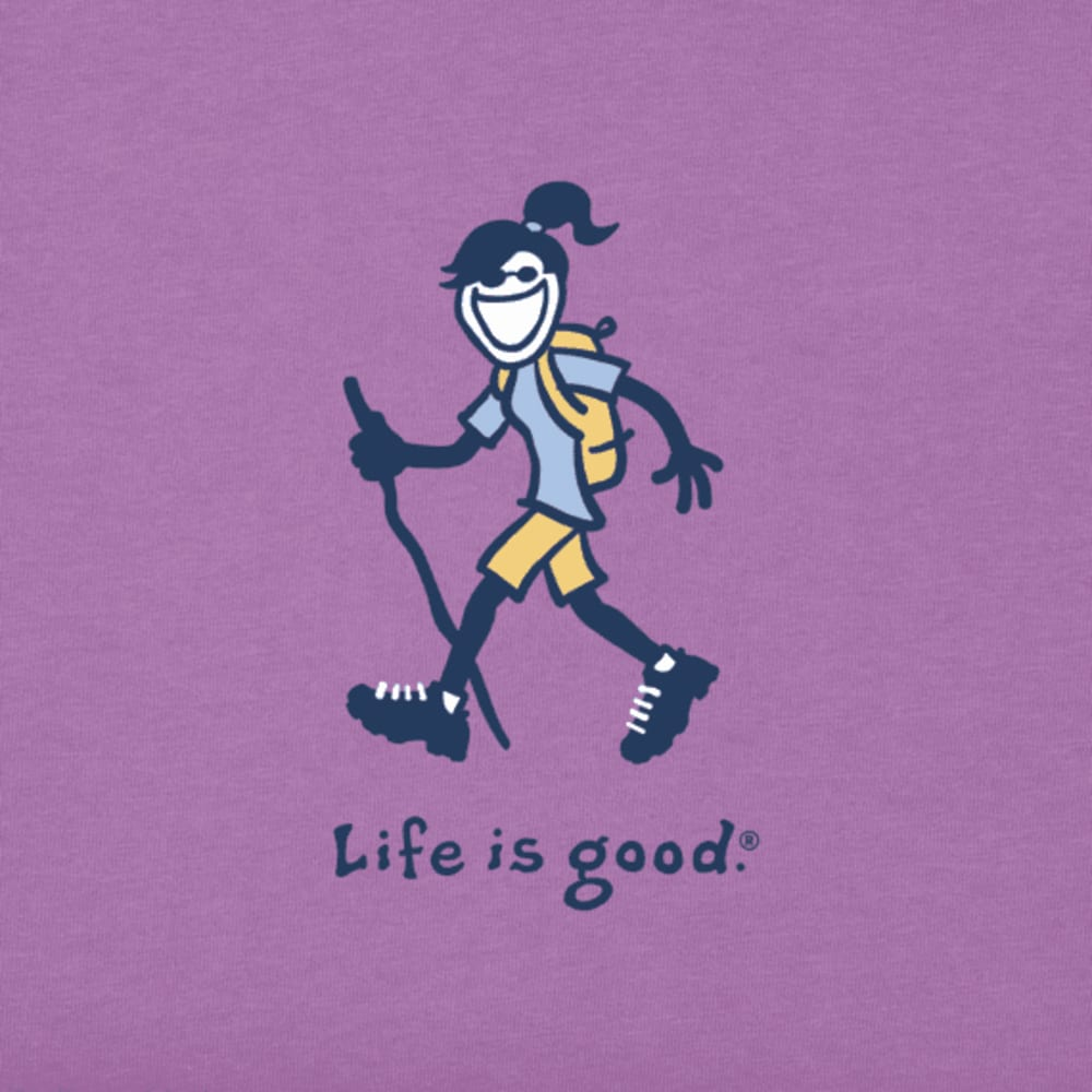 LIFE IS GOOD Women's Hike Jackie Vintage Crusher Tee - HPYGRP