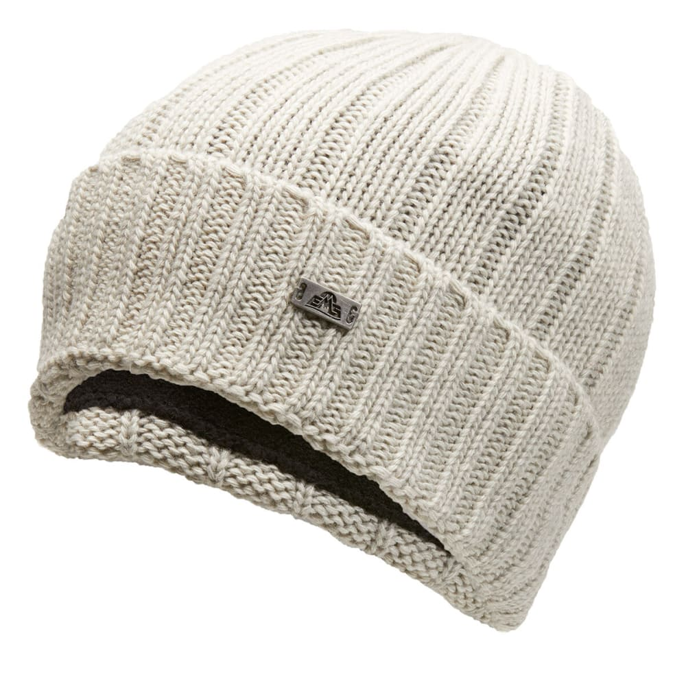 EMS Atticus Ribbed Beanie - NATURAL - 121