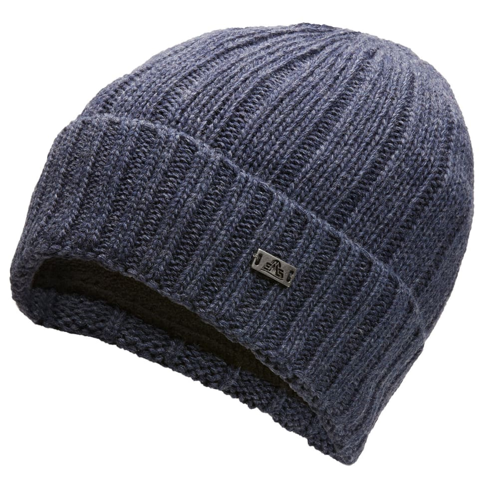 EMS Atticus Ribbed Beanie - NAVY - 120