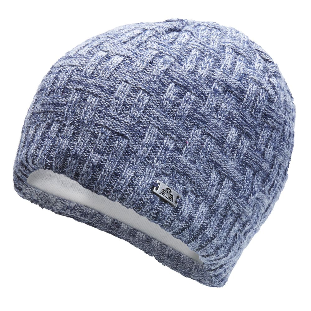 EMS Einar Weave Knit Beanie - FADED INDIGO - 026