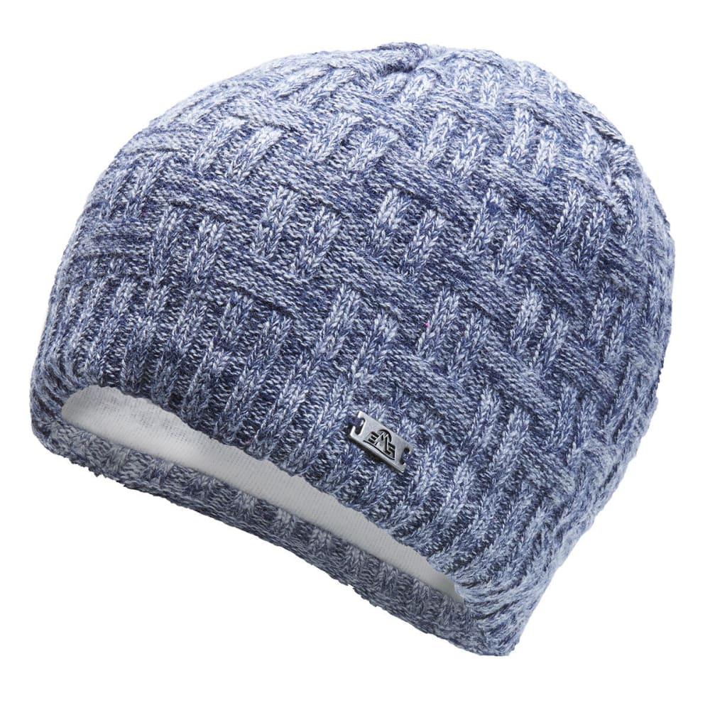 EMS Einar Weave Knit Beanie - FADED INDIGO - 026