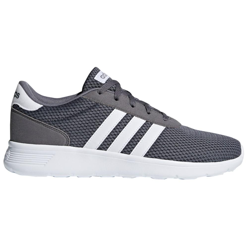 ADIDAS Men's Lite Racer Running Shoes - GREY-BK43732