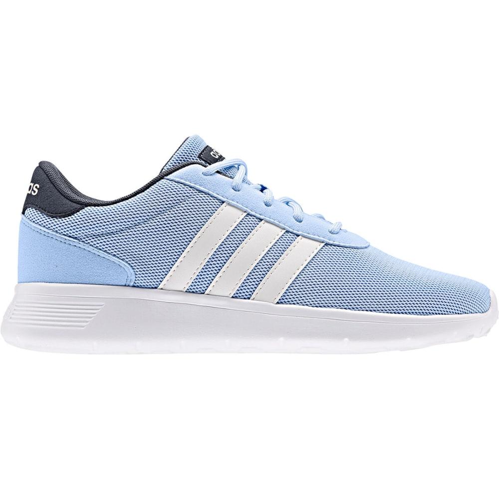 ADIDAS Women's Lite Racer Running Shoe - LT BLUE-EE8255