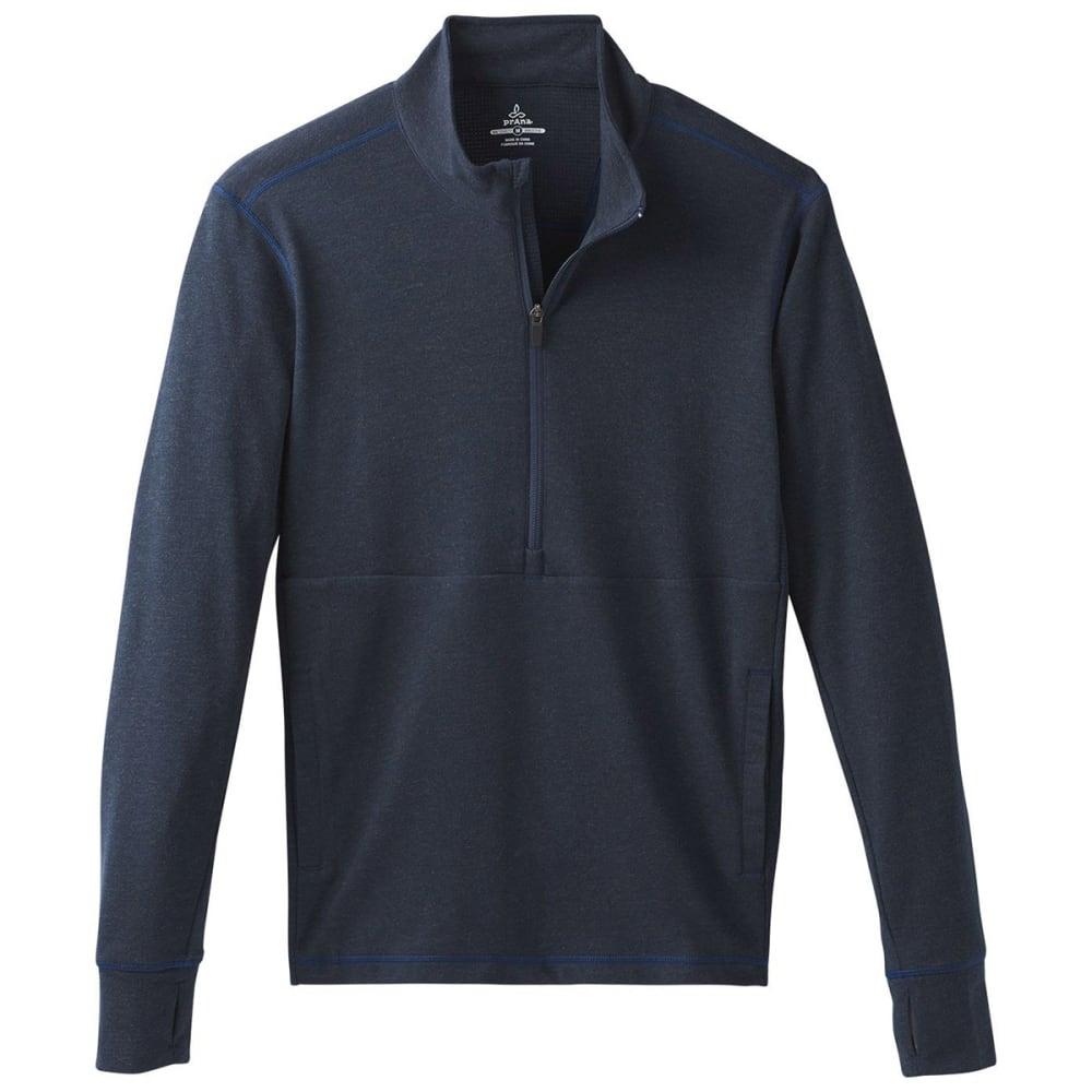PRANA Men's Jarvis 1/2-Zip Shirt - NAU NAUTICAL