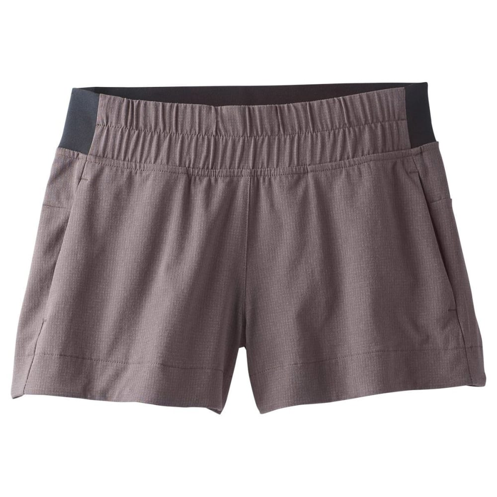 PRANA Women's Hybridizer Short - GRAN GRANITE