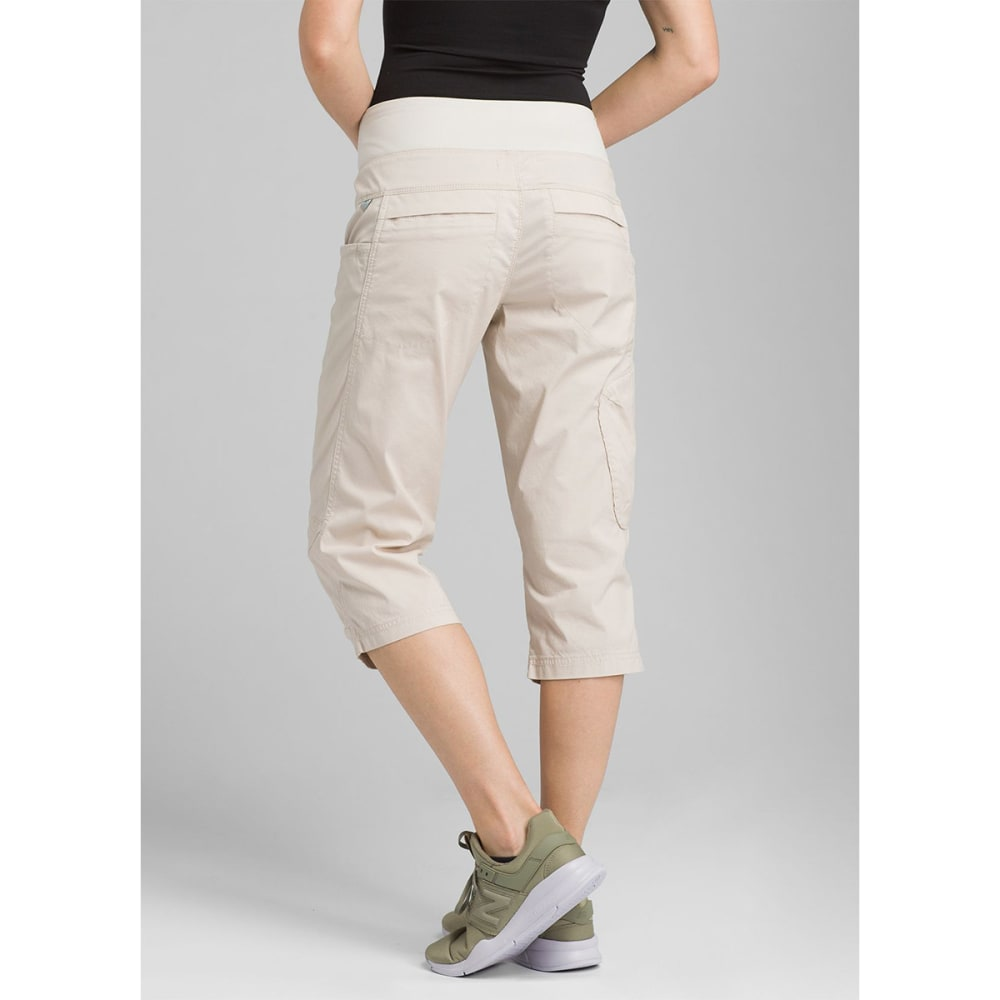 PRANA Women's Kanab Knee Pants - PBGY PEBBLE GREY