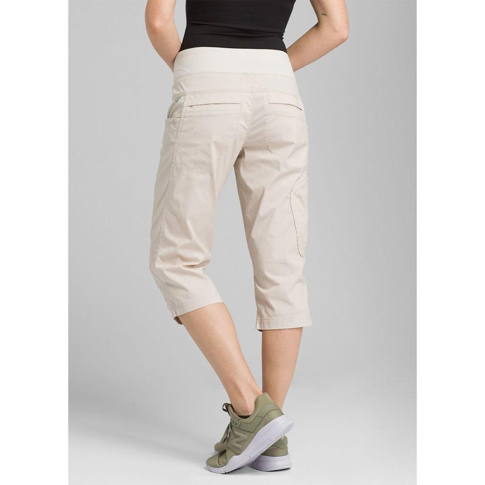PRANA Women's Kanab Knee Pants - PBGY PEBBLE GREY