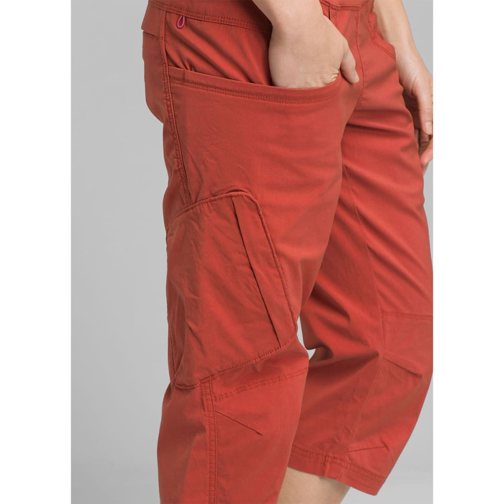 PRANA Women's Kanab Knee Pants - PTRD PATINA RED