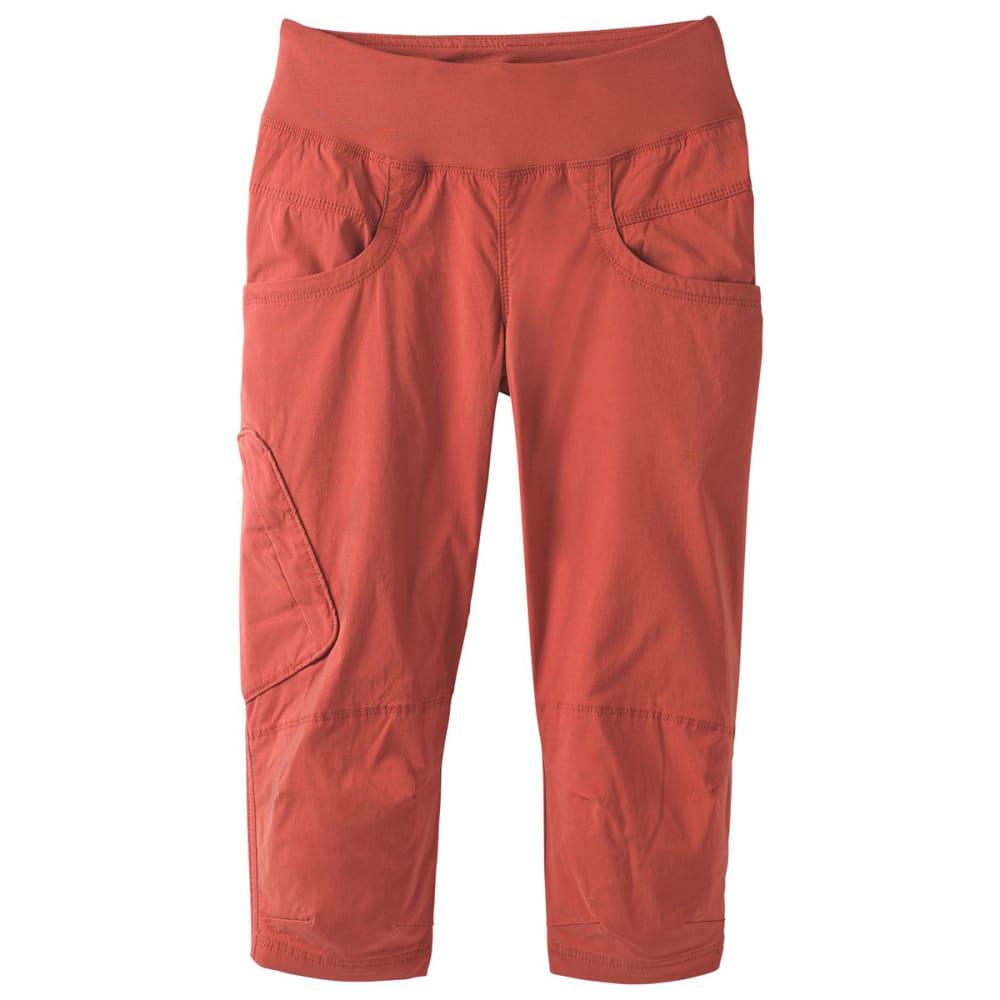 PRANA Women's Kanab Knee Pants - PTRD PATINA RED