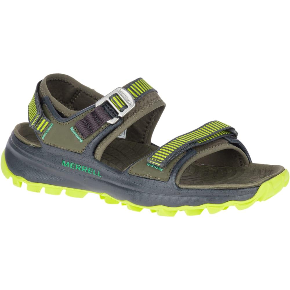 MERRELL Men's Choprock Strap Sandal - OLIVE GREEN-J48795