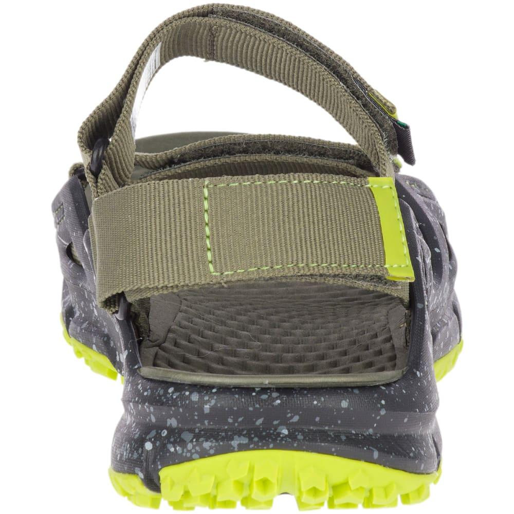 MERRELL Men's Hydrotrekker Strap Trail Sandal - DUSTY OLIVE-J50255