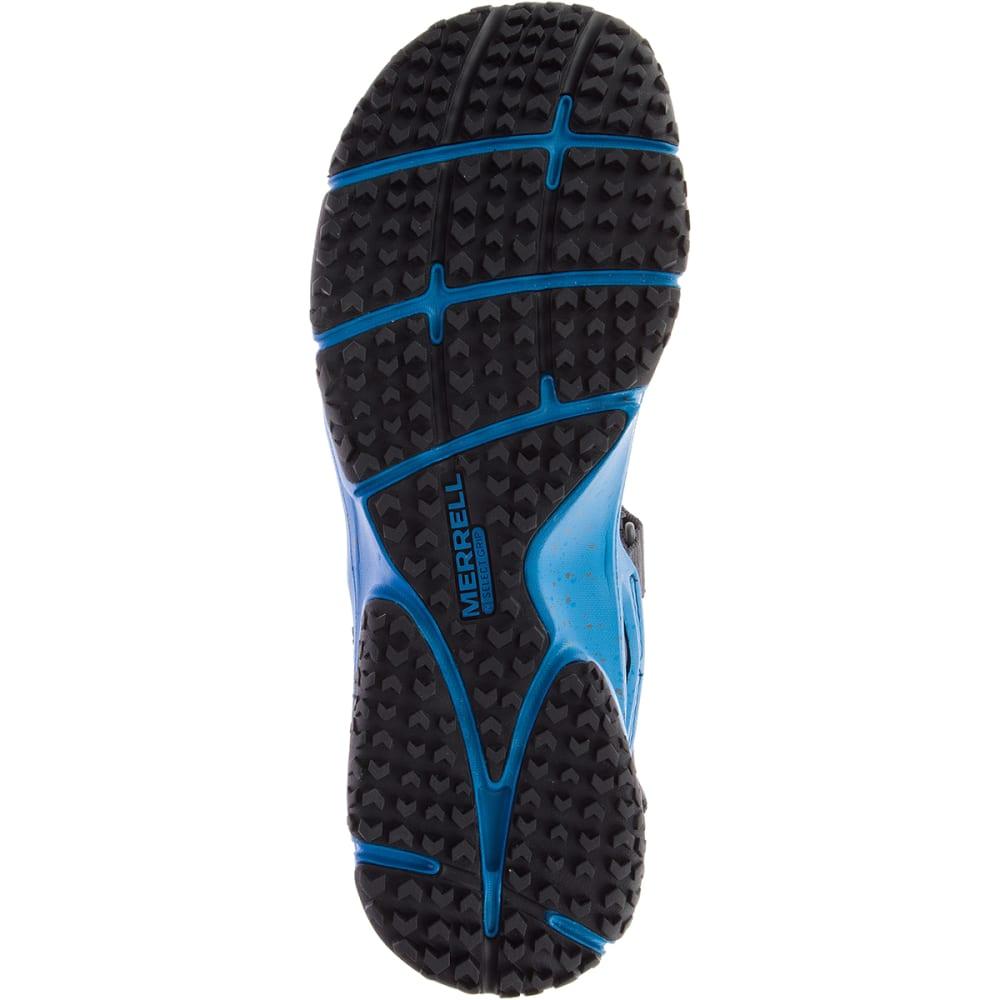 MERRELL Men's Hydrotrekker Strap Trail Sandal - BLUE-J48791