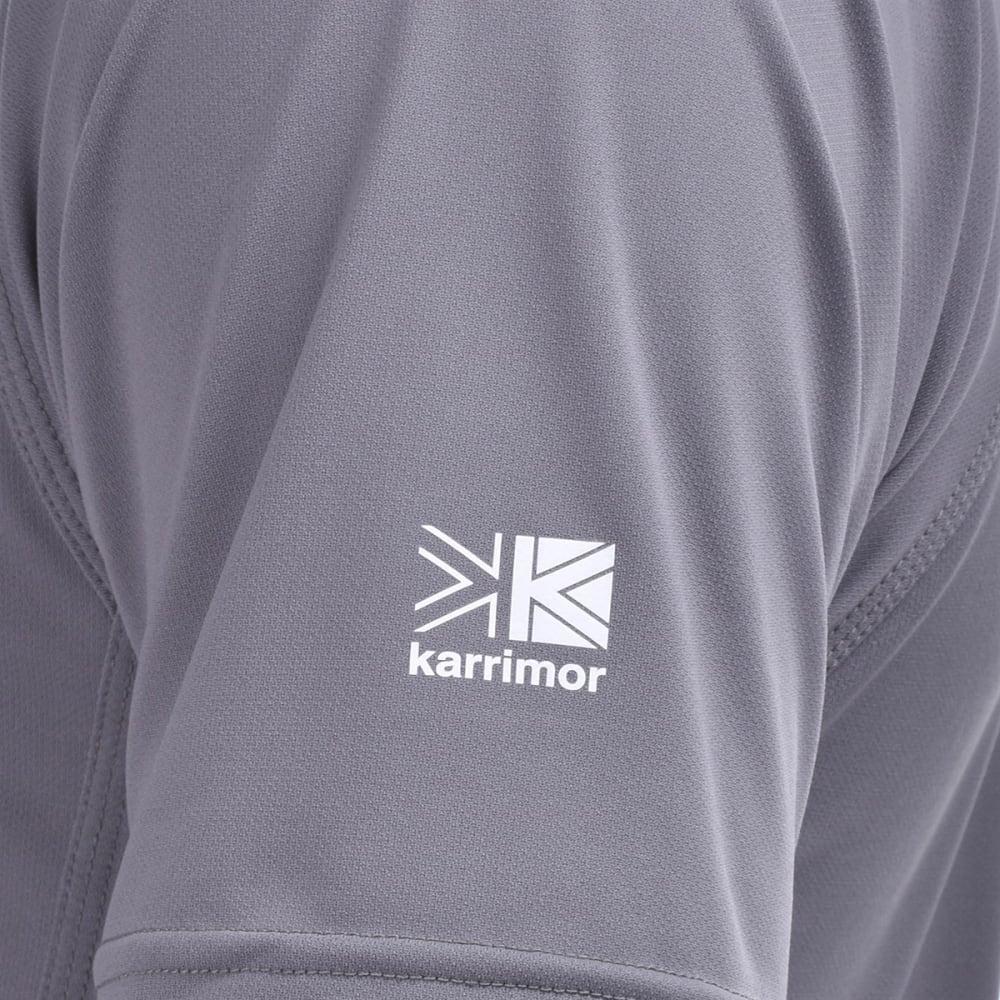 KARRIMOR Men's Short-Sleeve Fieldsensor Tee - GREY