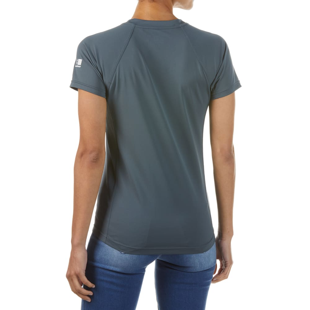 KARRIMOR Women's Short-Sleeve Tee - NAVY