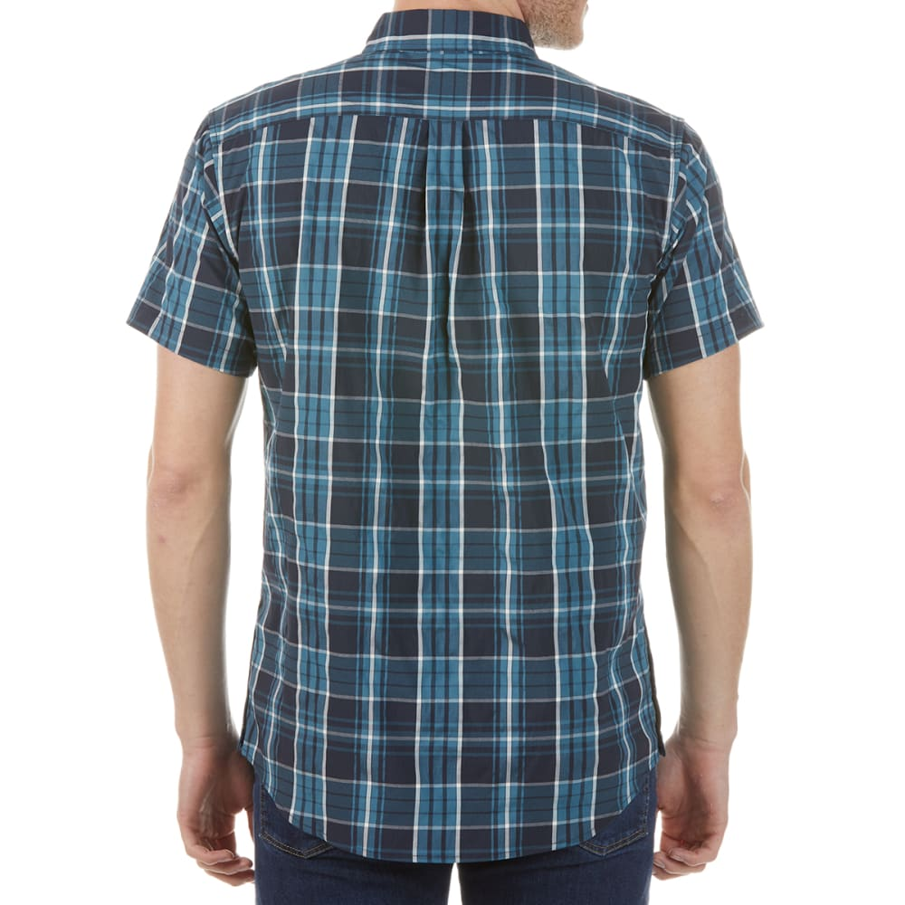 KARRIMOR Men's Yacuma Original Check Short-Sleeve Shirt - NAVY