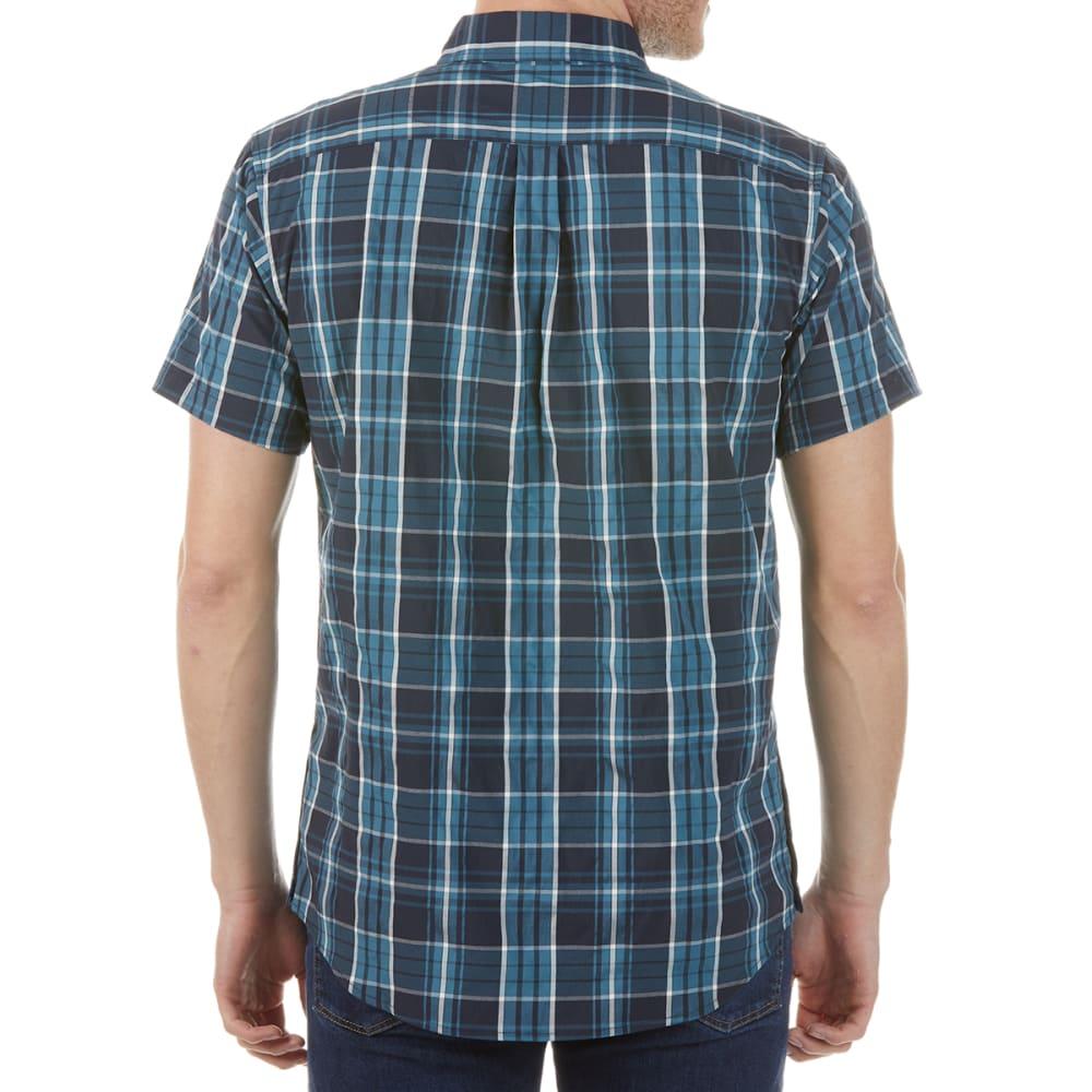 KARRIMOR Men's Yacuma Original Check Short-Sleeve Shirt - NAVY