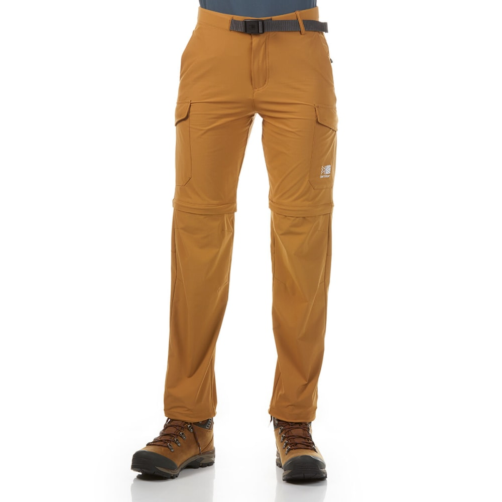 KARRIMOR Women's Comfy Convertible Pants - LIGHT BROWN