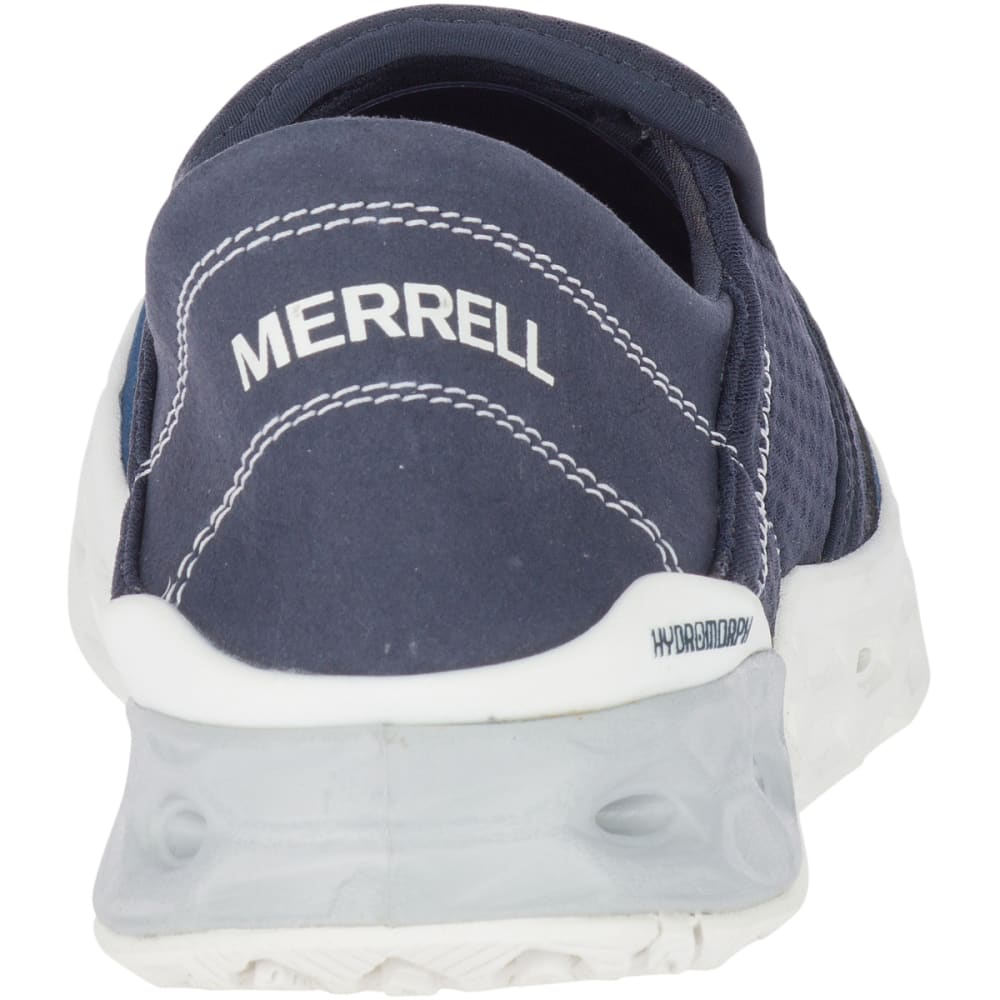 MERRELL Women's Tideriser Moc Boat Shoe - NAVY