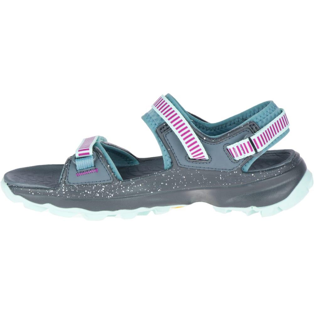 MERRELL Women's Choprock Strap Sandal - BLUE SMOKE-J52768