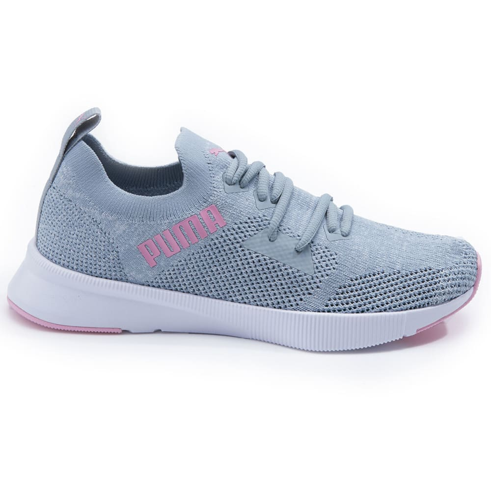 PUMA Women's Flyer Runner Engineer Knit Athletic Shoes - QUARRY-02