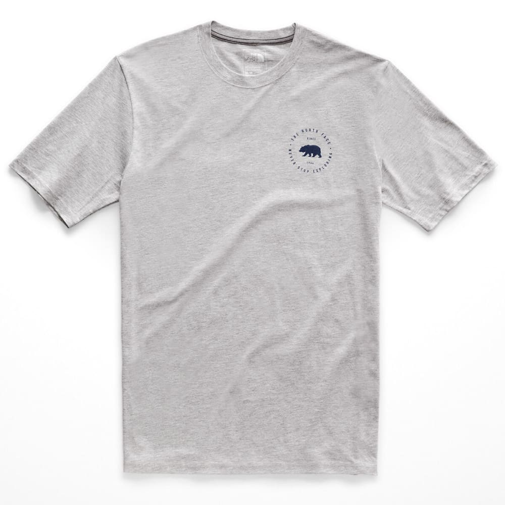THE NORTH FACE Men's Bearitage Rights Tee - DYX TNF LT GREY HTR