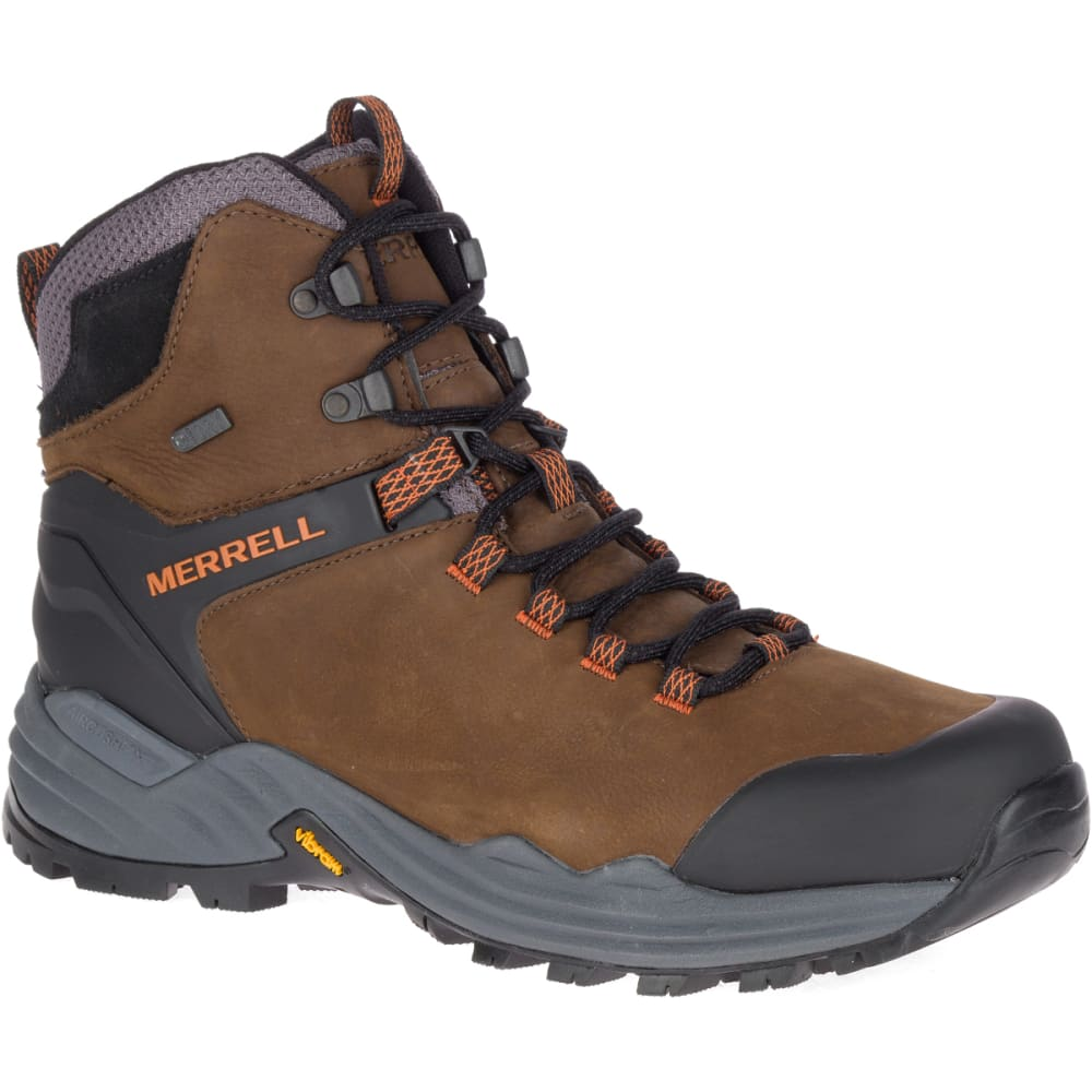 Merrell Men's Phaserbound 2 Tall Waterproof Hiking Boot - Brown