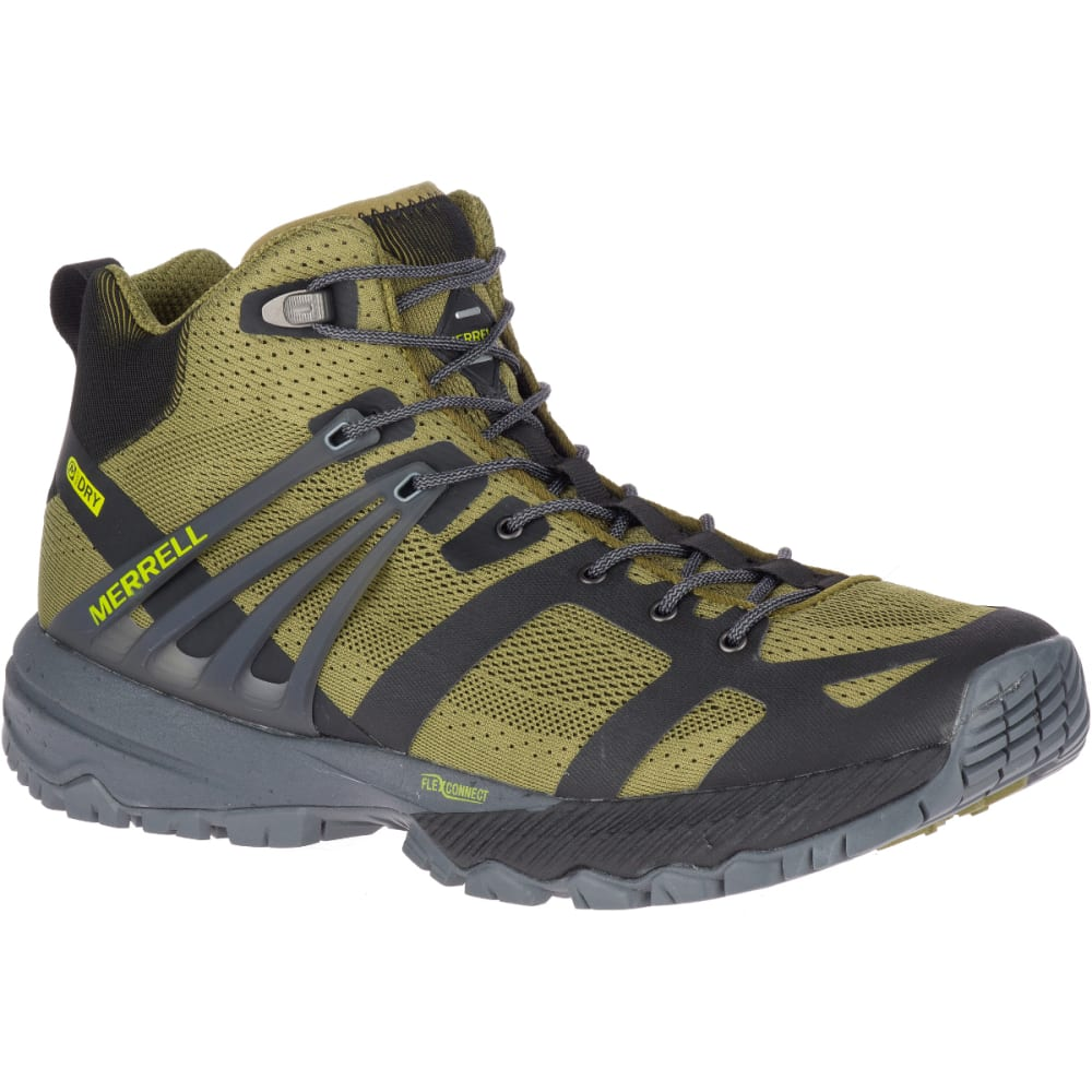 Merrell Men's Mqm Ace Mid Waterproof Hiking Boot - Green
