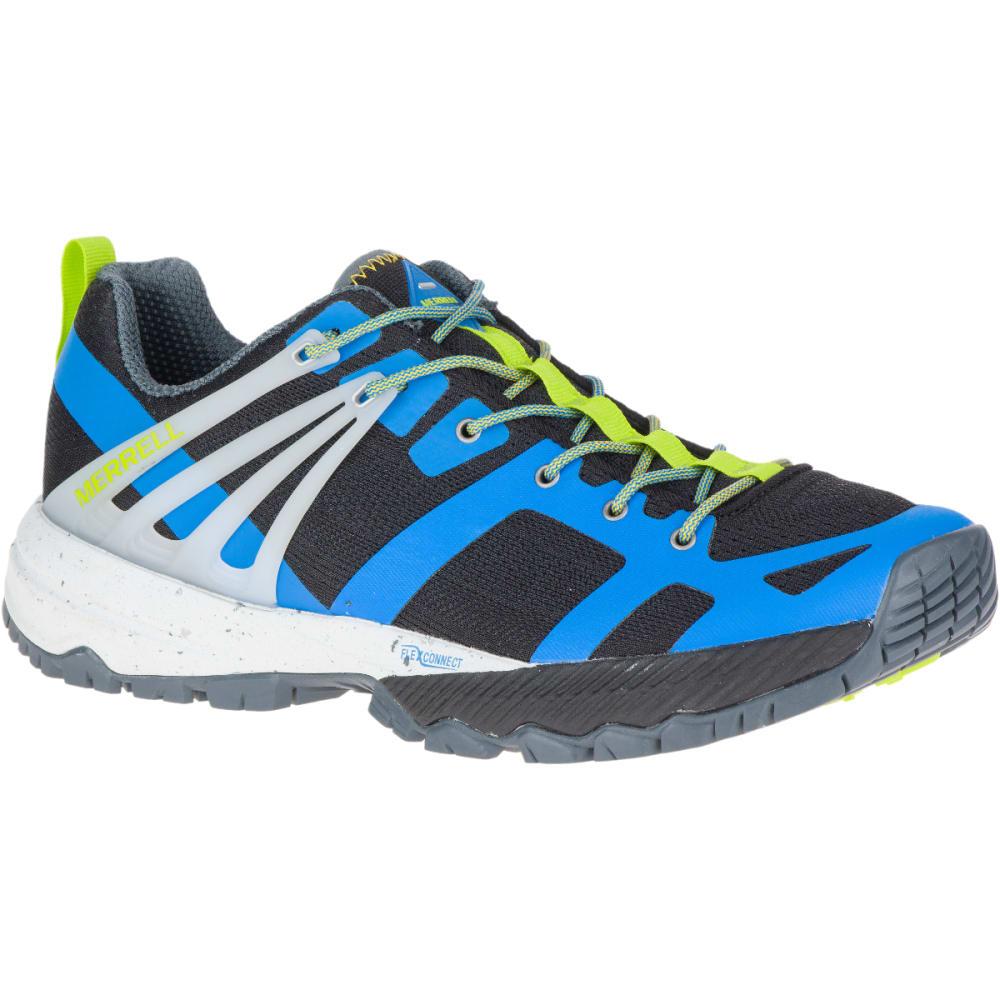 MERRELL Men's MQM Ace Trail Shoe - DIRBLUE/LIME