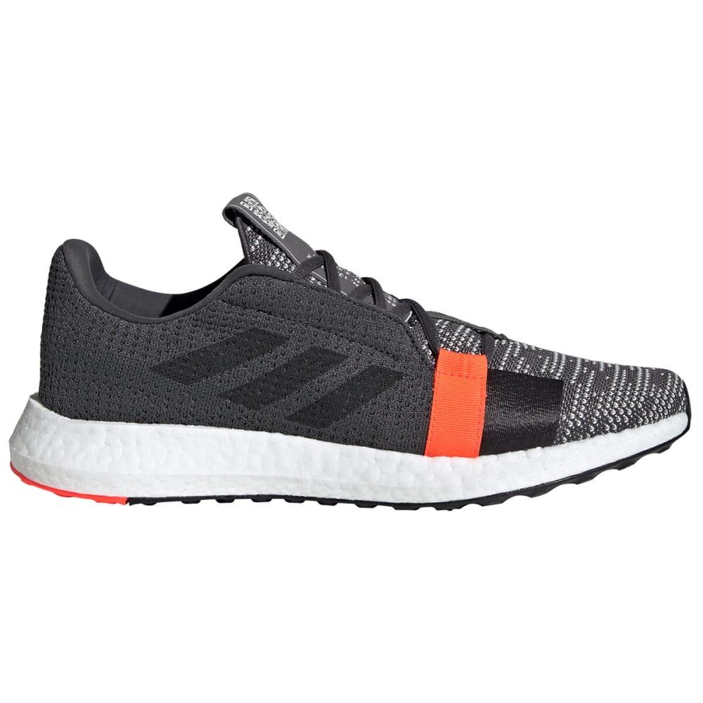 ADIDAS Men's SenseBoost Go Running Shoes - GREY/BLACK