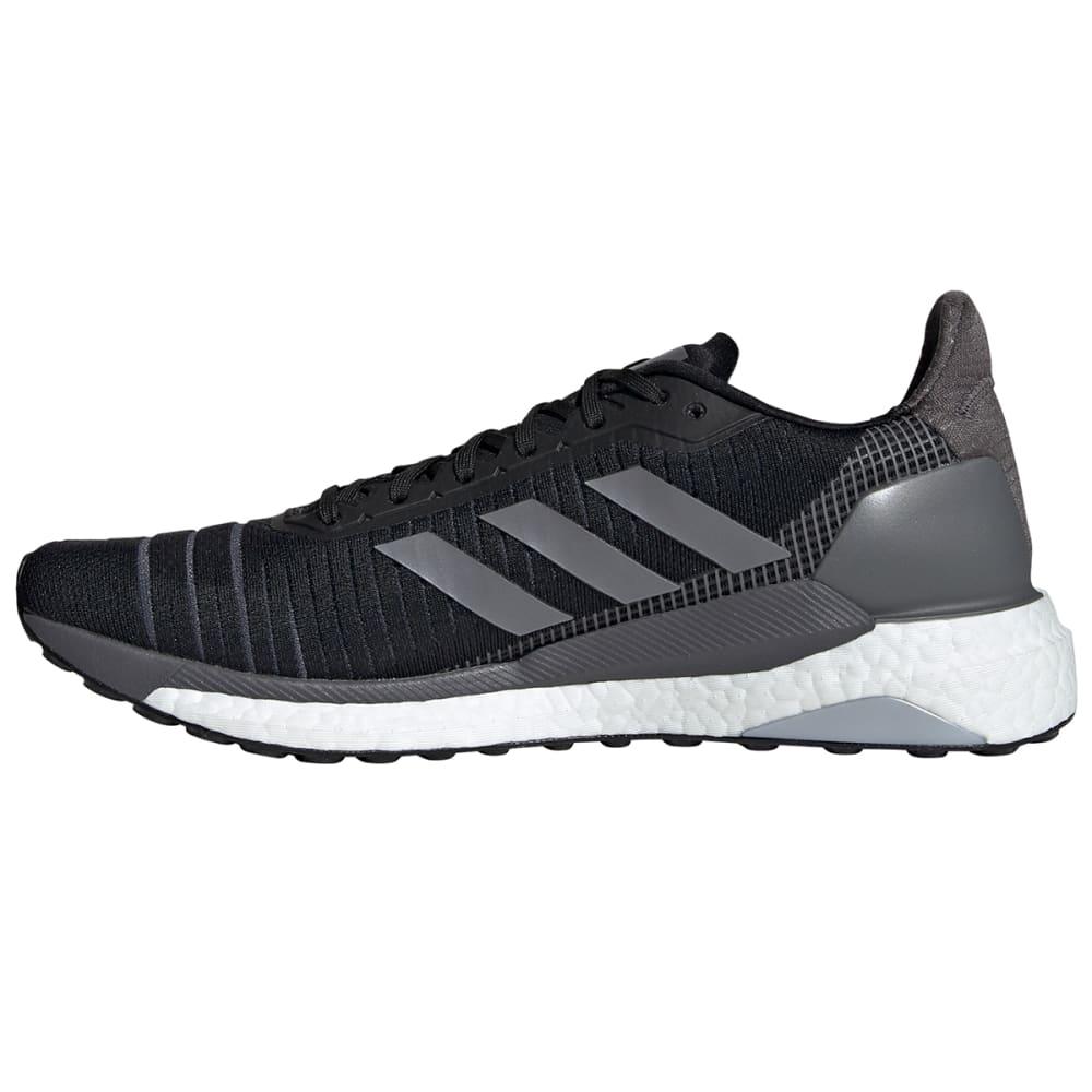 ADIDAS Men's Solar Glide 19 Running Shoe - BLACK/GREY/ WHITE