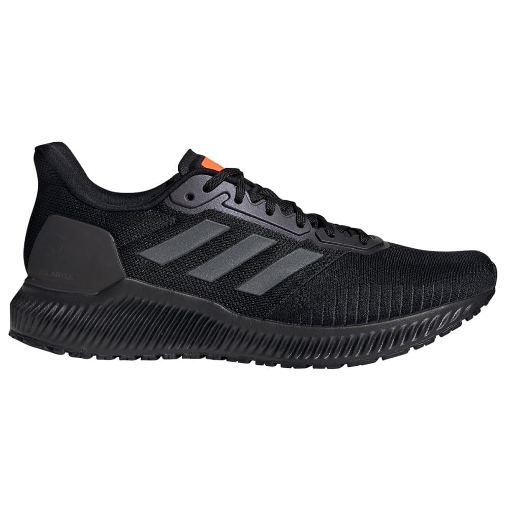 ADIDAS Men's Solar Ride Running Shoe - BLACK/GREY/ORANGE