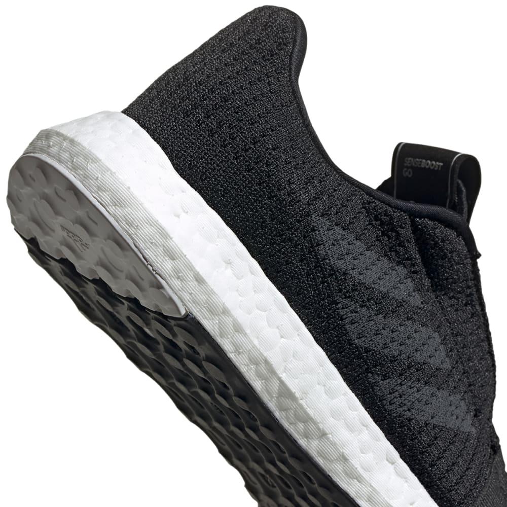 ADIDAS Women's senseBOOST Running Shoes - BLACK/GREY/WHITE