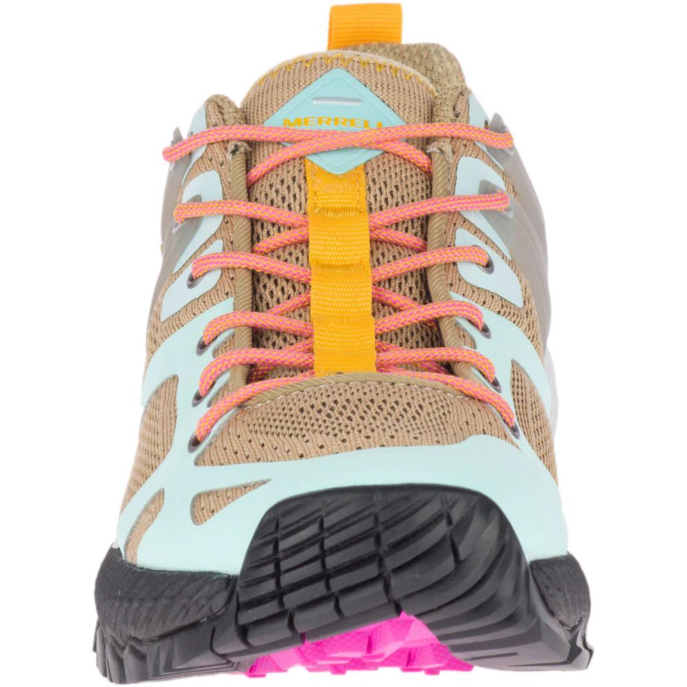 MERRELL Women's MQM Ace Trail Shoe - STARFISH/AQUA