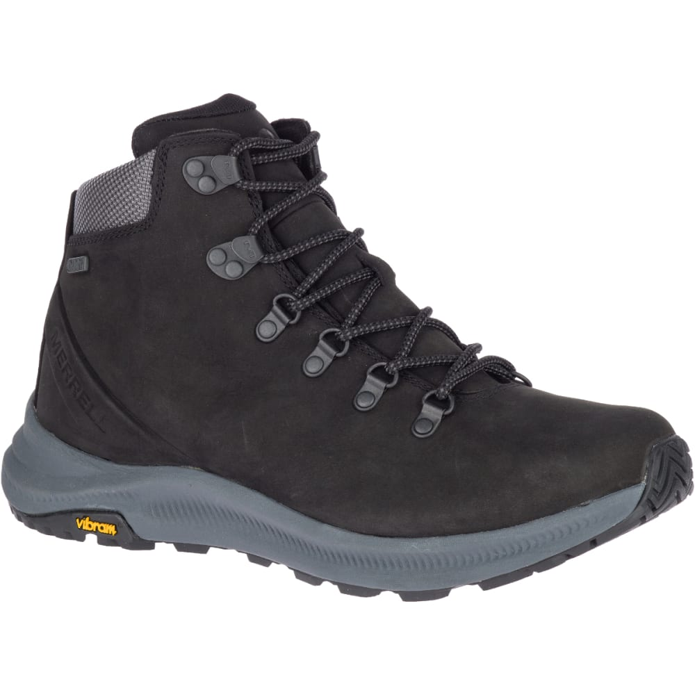 Merrell Men's Ontario Mid Waterproof Hiking Boot - Black