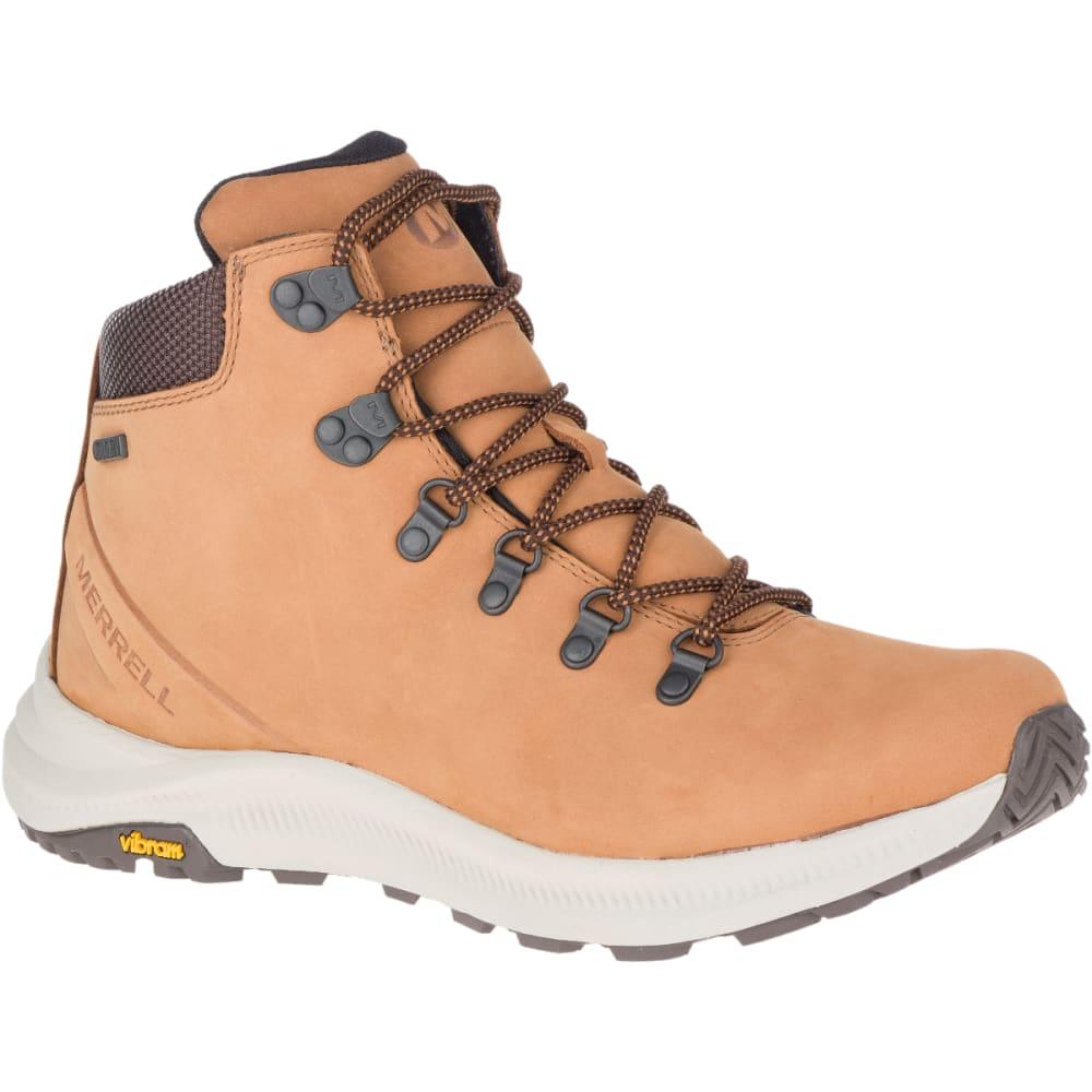 MERRELL Men's Ontario Mid Waterproof Hiking Boot - BRN SUGAR