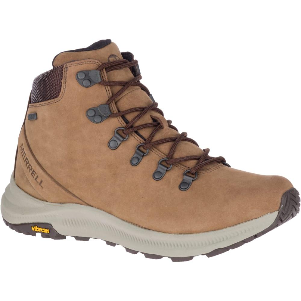 MERRELL Men's Ontario Mid Waterproof Hiking Boot - DK EARTH - J84903