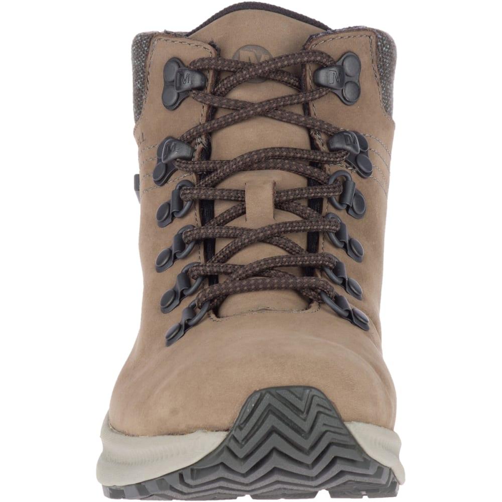 MERRELL Women's Ontario Mid Waterproof Hiking Boot - BOULDER
