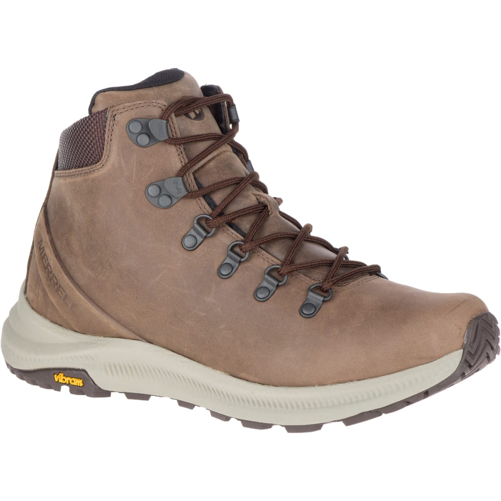 MERRELL Men's Ontario Mid Hiking Boot - DARK EARTH