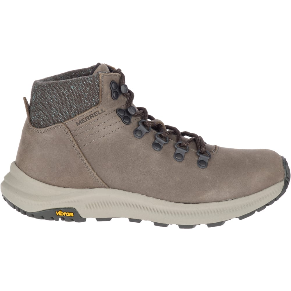 MERRELL Women's Ontario Mid Hiking Boot - BOULDER