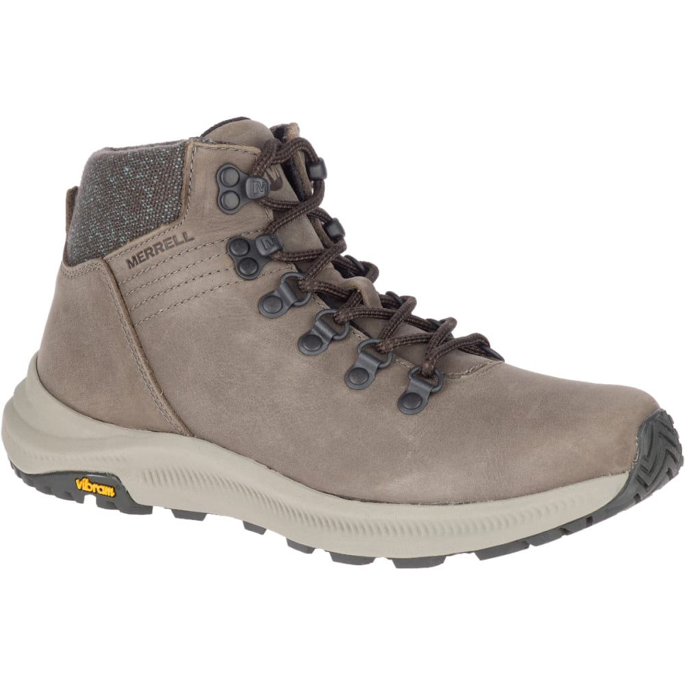 MERRELL Women's Ontario Mid Hiking Boot - BOULDER