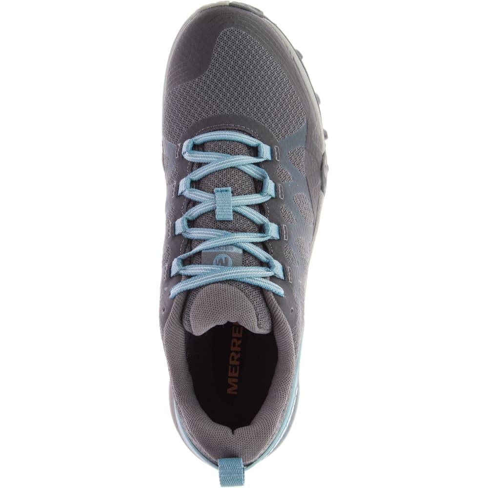MERRELL Women's Siren 3 Ventilator Hiking Shoe - BLUE SMOKE J52910